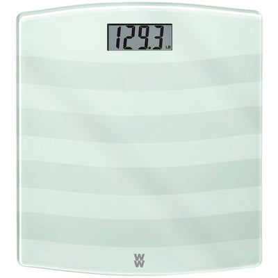 Digital Painted Glass Scale (White)