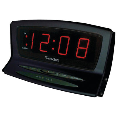 Instant-Set LED Alarm Clock