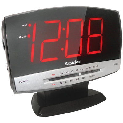 1.8'' Digital AM/FM Dual Alarm Clock Radio