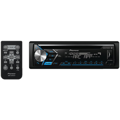 PIONEER DEH-S4000BT Single-DIN In-Dash CD Receiver with Bluetooth¨