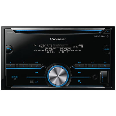 PIONEER FH-S500BT Double-DIN In-Dash CD Receiver with Bluetooth¨