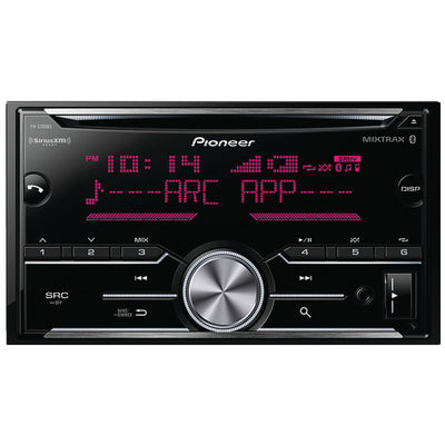 PIONEER FH-S700BS Double-DIN In-Dash CD Receiver with Bluetooth¨ & SiriusXM¨ Ready