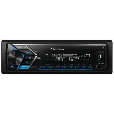 PIONEER MVH-S300BT Single-DIN In-Dash Digital Media Receiver with Bluetooth¨