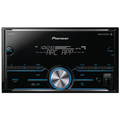 PIONEER MVH-S400BT Double-DIN In-Dash Digital Media Receiver with Bluetooth¨