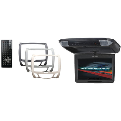 "11.2"" Universal Ceiling-Mount Monitor with IR Transmitter & 3 Interchangeable Skins"