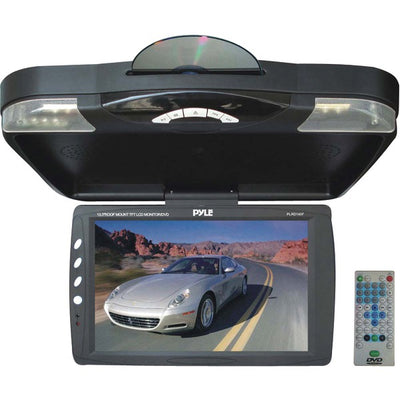 "13.3"" Ceiling-Mount LCD Monitor with DVD Player & IR Transmitter"