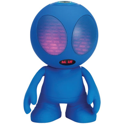 Bluetooth¨ Alien Portable Speaker (Blue)