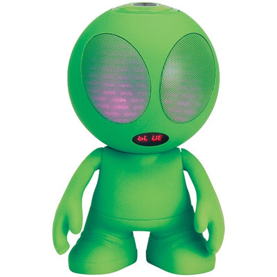 Bluetooth¨ Alien Portable Speaker (Green)
