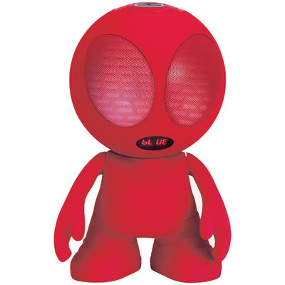 Bluetooth¨ Alien Portable Speaker (Red)