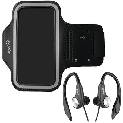 Sport Kit Armband & Earbuds with Microphone