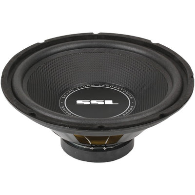 "SS Series High-Power Single 4ohm Voice-Coil Subwoofer with Poly-Injection Cone (12"", 800 Watts)"