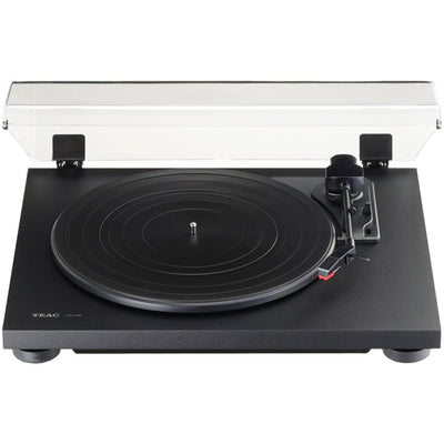 3-Speed Analog Auto-Return Turntable (Black)