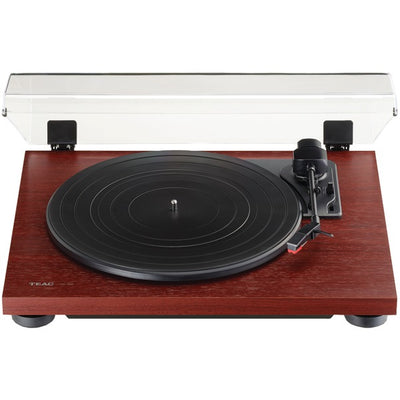 3-Speed Analog Auto-Return Turntable (Cherry)