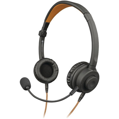 3-in-1 Multi-Use Wired Convertible Stereo/Mono Headset with Boom Microphone & Gaming Connectors