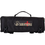 12 SURVIVORS TS42000B First Aid Rollup Kit