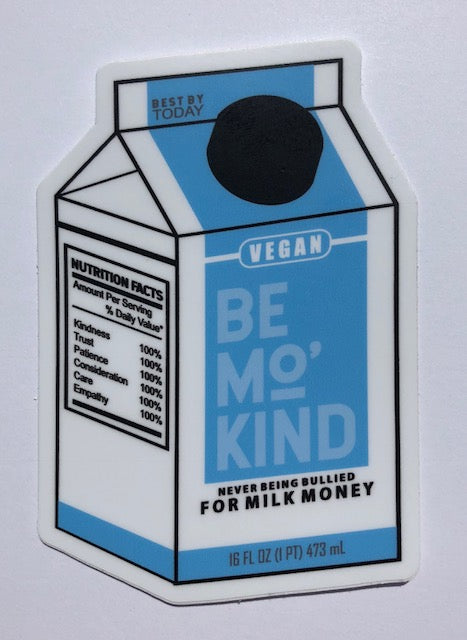 Sticker - Milk Carton