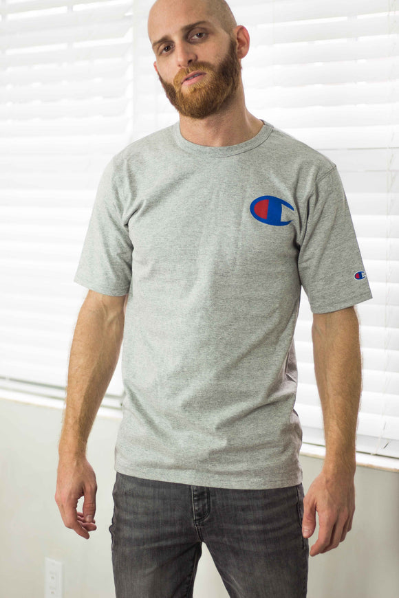 Champion Big Logo T-Shirt - TAGVIN