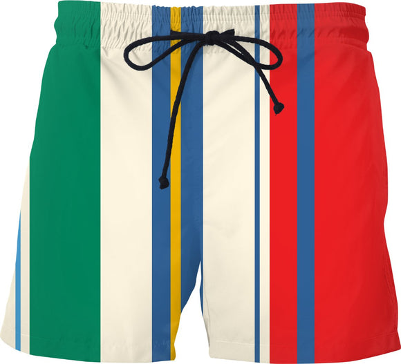 Classic Regatts Striped Swim Shorts - TAGVIN