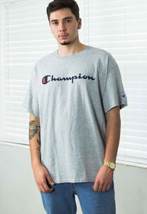 Deadstock New Vintage Champion T-Shirt Logo - TAGVIN