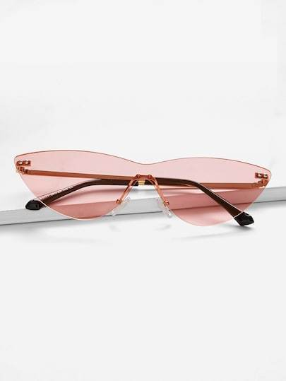 Seeing Rosé Sunglasses - TAGVIN