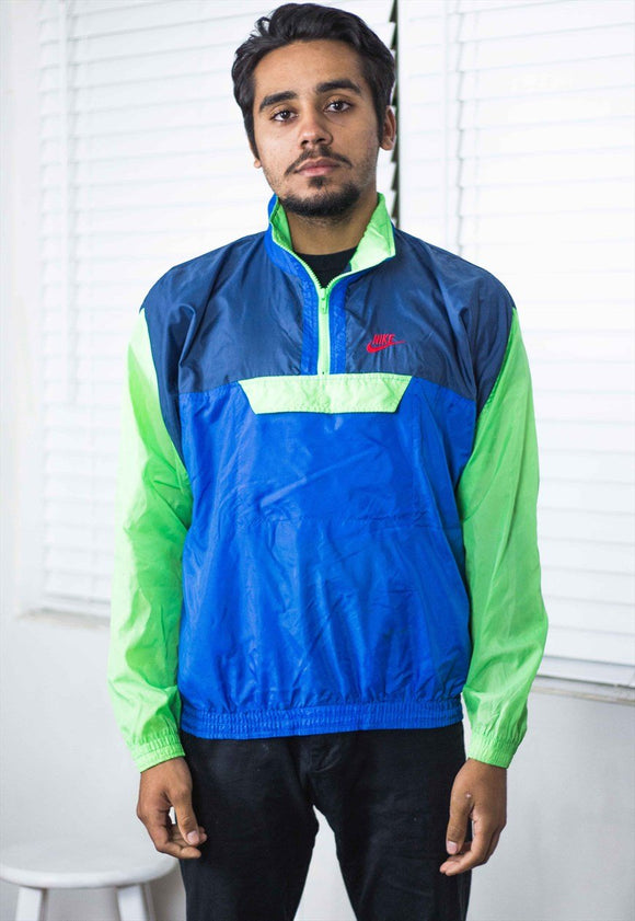 Vintage Nike Colorblock Windbreaker Jacket - TAGVIN