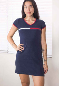 Vintage Tommy Hilfiger Logo Dress - TAGVIN