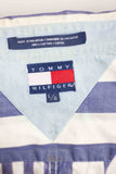 Vintage Tommy Hilfiger Regatta Striped Shirt Logo 90s - TAGVIN