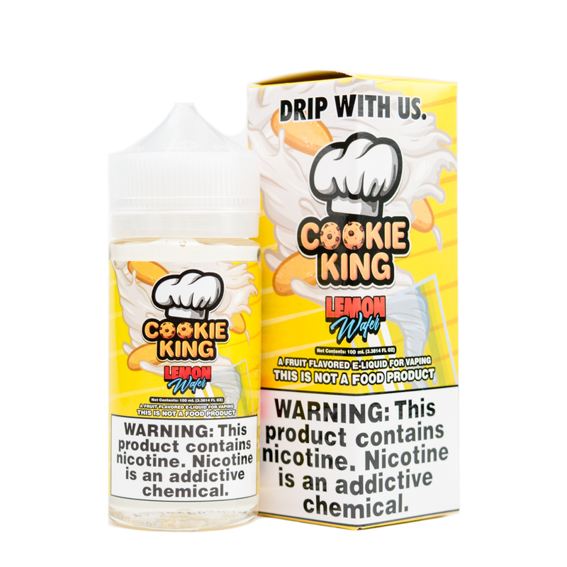 Cookie King - Lemon Wafer Dripmore 100ml