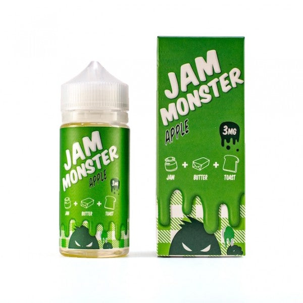 Jam Monster Apple 100ml - Best Juice Top Brands