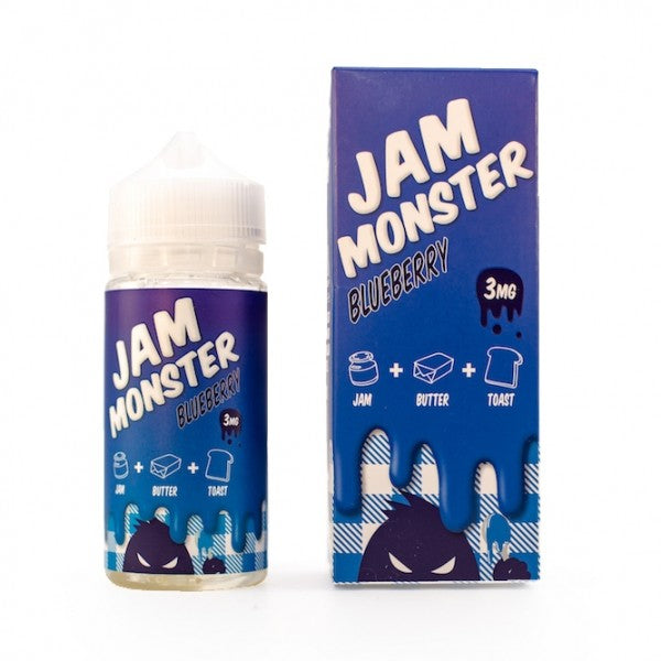 Jam Monster Blueberry 100ml - Best Juice Flavors