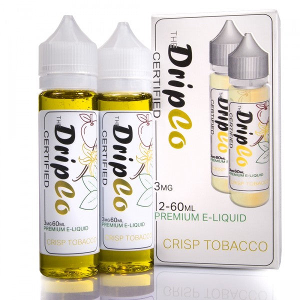 Drip Co Certified E-Liquid - Crisp Tobacco - Best Vape Juices & Juicy Eliquid Vape