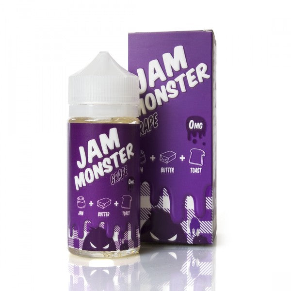 Jam Monster Grape 100ml - Best Juice Brands