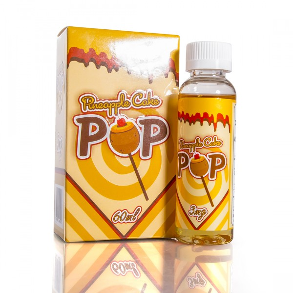 Drip Co 60ml E-Liquid - Pineapple Cake Pop - Best Flavor Liquid Juice