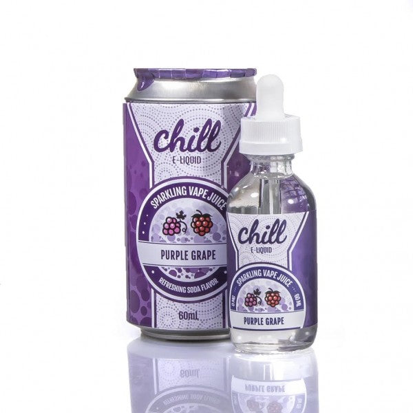 Naked 100 Chill E-Liquid - Purple Grape - Top Brands E-JUICE - QUALITY Best Vape Juices
