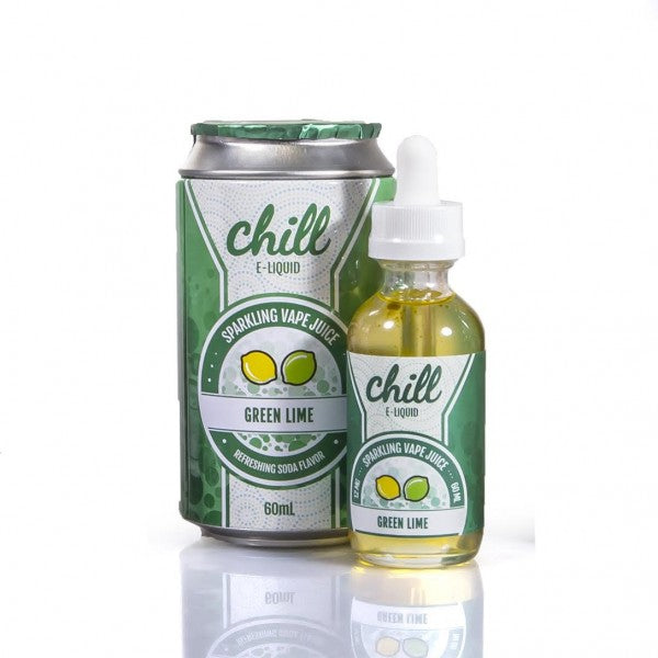Naked 100 Chill E-Liquid - Green Lime - Top Brands E-JUICE - QUALITY Best Vape Juices