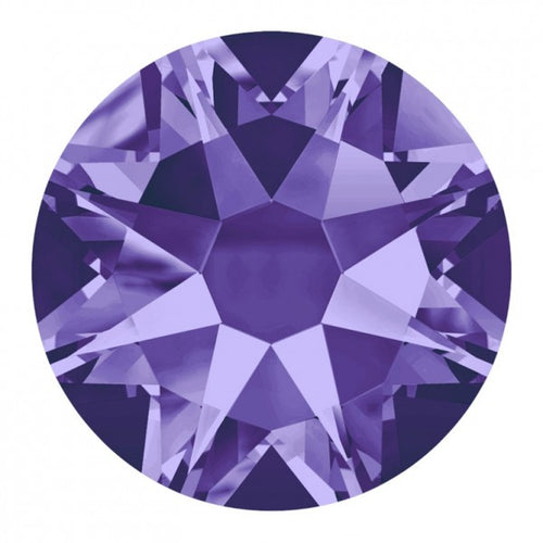 TANZANITE SS9 - SWAROVSKI 2058 XILION ROSE 1440 PCS