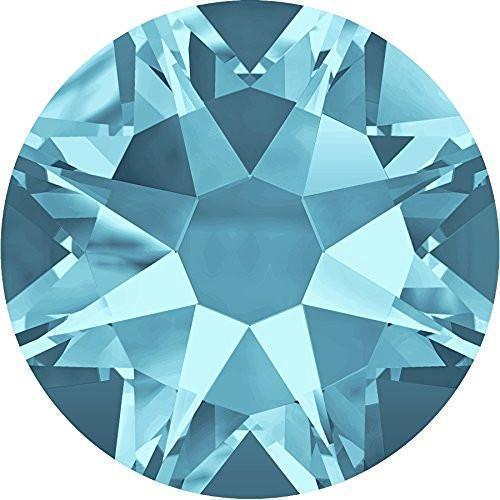 AQUAMARINE SS10 - SWAROVSKI 2000 ROSE 1440 PCS
