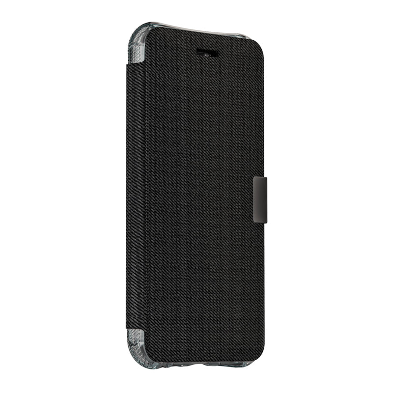 EFM Miami Wallet Case Armour for iPhone 8+/7+/6+/6S+ Plus - Jet Black - Gearlyst