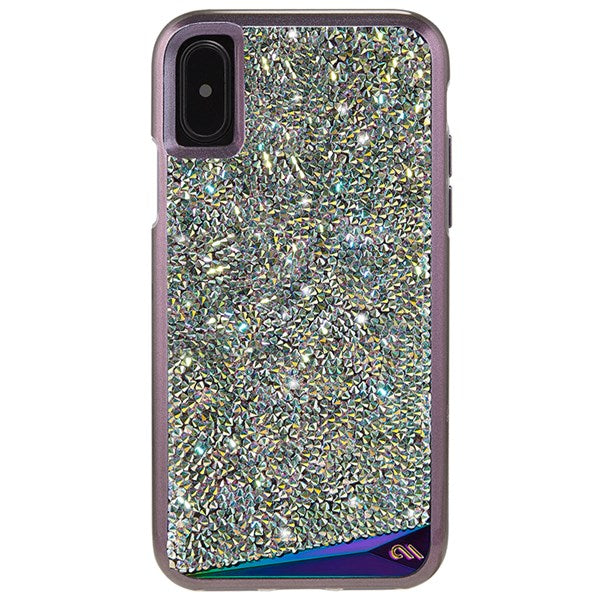 Case-Mate Brilliance Genuine Crystals Case for iPhone XS/X - Iridescent - Gearlyst