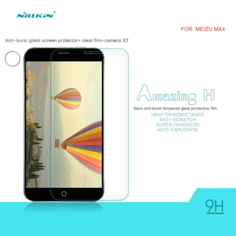 Nillkin H+ 9H Tempered Glass Screen Protector for Meizu MX4 - Gearlyst