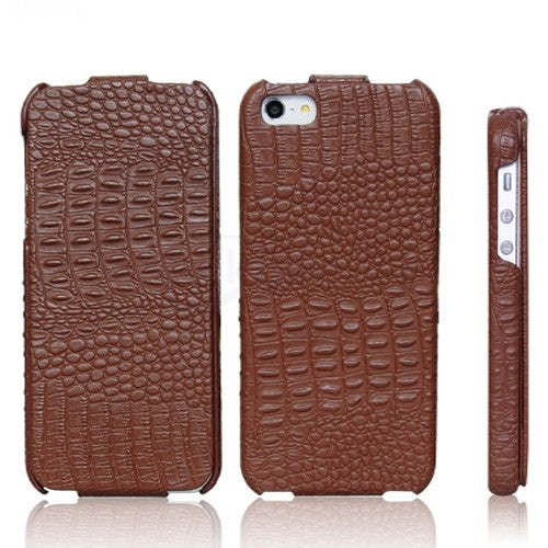 HOCO Royal Series Lizard Pattern Leather Case for iPhone 5/5s - Gearlyst