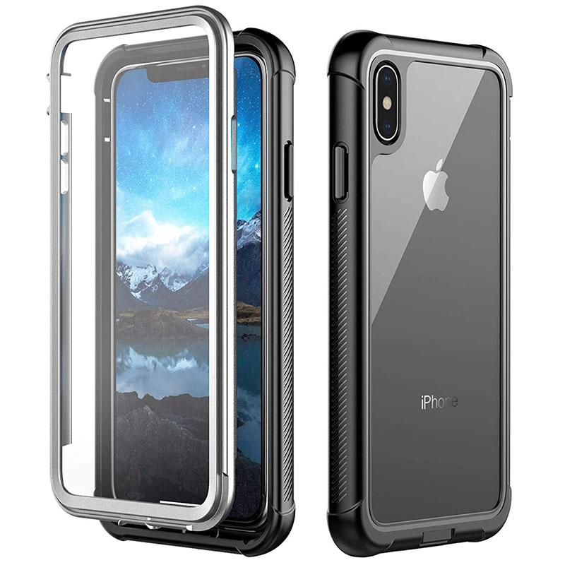 iPhone Xs Max Full-Body Rugged Case with Built-in Screen Protector DOTPRO - Gearlyst