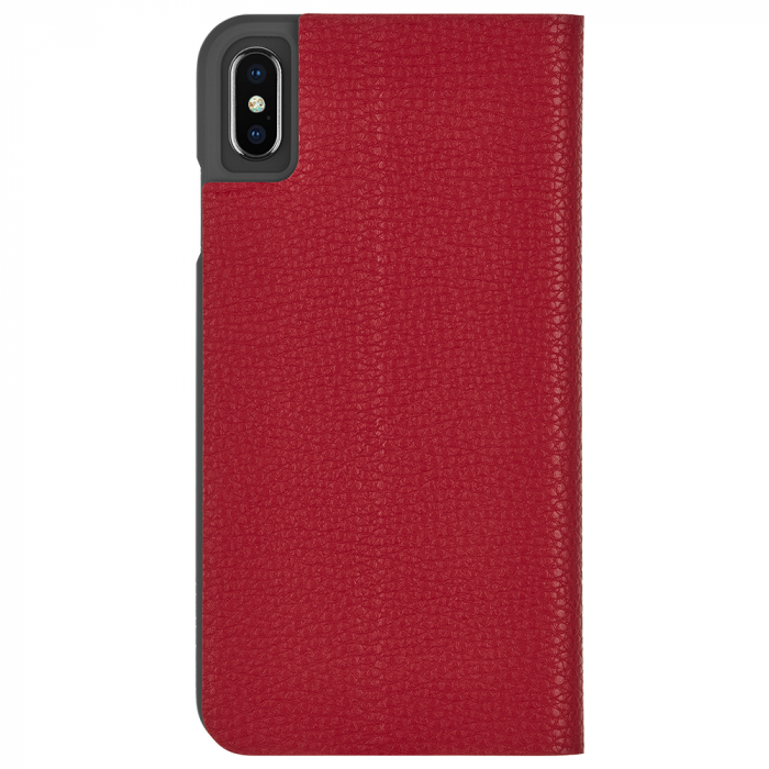 "Case-Mate Barely There Foli Minimalist Case for iPhone Xs Max (6.5"") - Cardinal - Gearlyst"