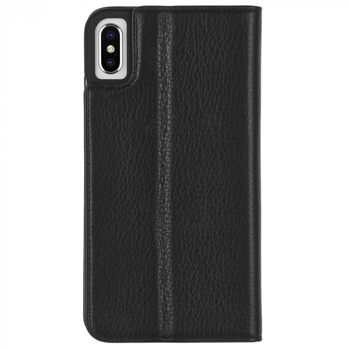 "Case-Mate Wallet Folio Minimalist Case for iPhone Xs Max (6.5"") - Black - Gearlyst"