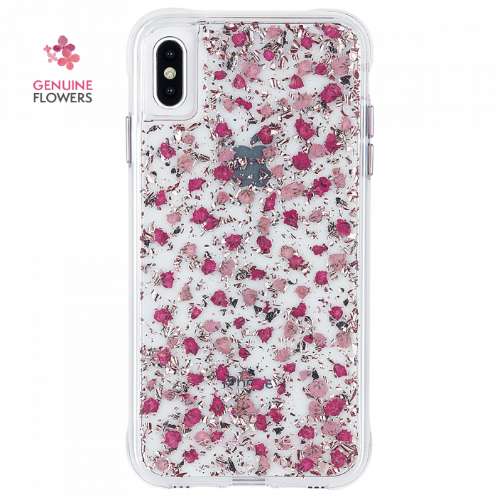 "Case-Mate Karat Petals Street Case for iPhone Xs Max (6.5"") - Ditsy Flowers - Gearlyst"
