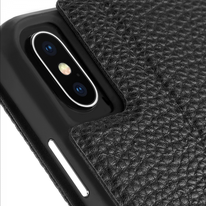 "Case-Mate Barely There Foli Minimalist Case for iPhone Xs Max (6.5"") - Black - Gearlyst"