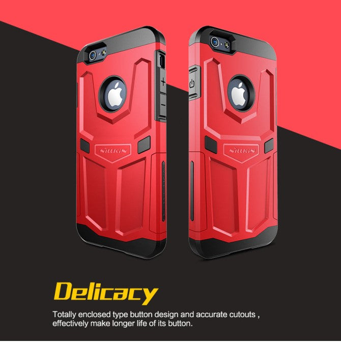 Nillkin Defender Tough Rugged Case ( Red ) for Apple iPhone 6/6s - Gearlyst