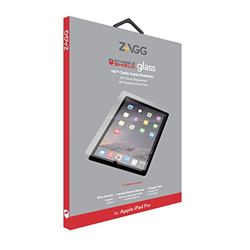 "ZAGG Invisible Shield Glass HD Clarity Glass Screen Protector for iPad Pro 12.9"" - Gearlyst"