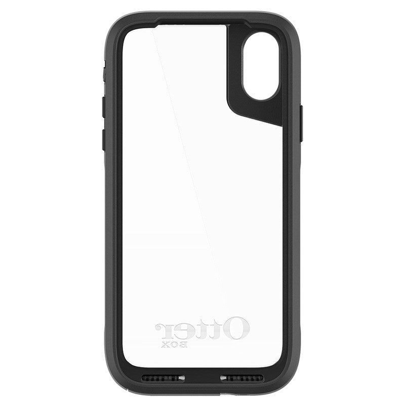 OtterBox Pursuit Tough Rugged Case For iPhone X  - Black/Clear - Gearlyst