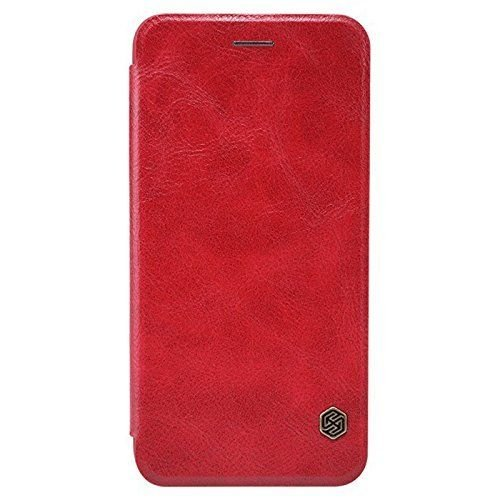 Nillkin QIN iPhone 6 Plus / 6s Plus Slim Leather Wallet Cover - Red - Gearlyst